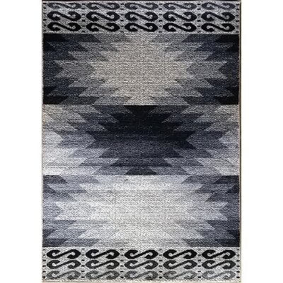 La Junta Gray Area Rug Rug Size: Runner 27 x 91