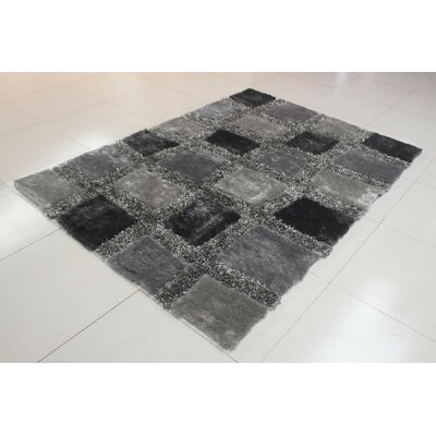 Chimel Gray Area Rug Rug Size: Runner 2 x 72