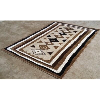 Shuntae Brown Area Rug Rug Size: 10 x 13
