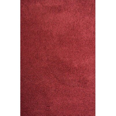 Alsager Burgundy Area Rug Rug Size: Rectangle 711 x 910