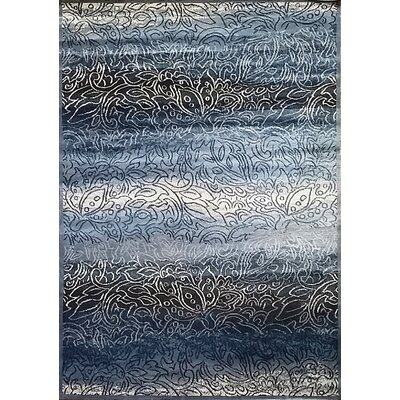 Ravensdale Gray Area Rug Rug Size: 10 x 13
