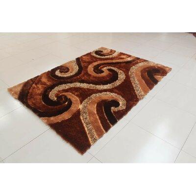Micadeau Gold Area Rug Rug Size: 711 x 910