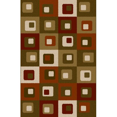 Aran Gray/Brown Area Rug Rug Size: 711 x 910