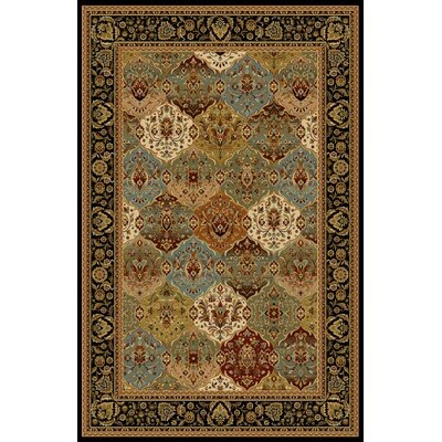 Almira Black/Brown Area Rug Rug Size: Runner 2'7