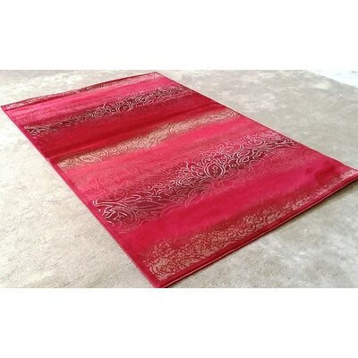 Ravensdale Red Area Rug Rug Size: Runner 27 x 91