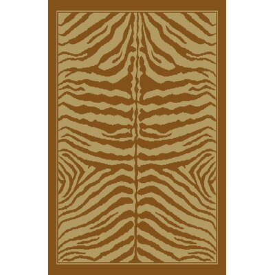 Christie Beige/Brown Area Rug Rug Size: 711 x 910