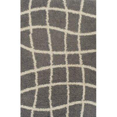 Gabriel Gray Area Rug Rug Size: 53 x 72