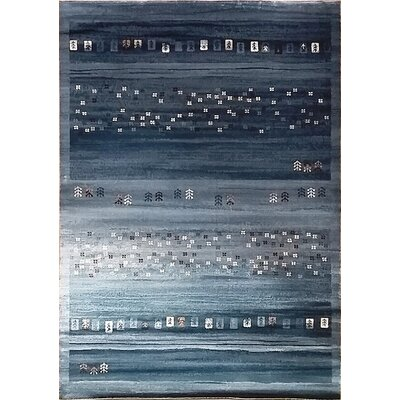 Latisha Light Blue Area Rug Rug Size: 53 x 72