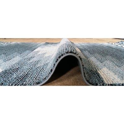 La Junta Blue Area Rug Rug Size: 711 x 910