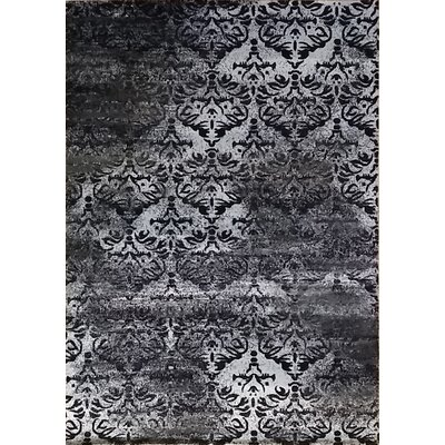 Abrahamsville Gray Area Rug Rug Size: 711 x 910
