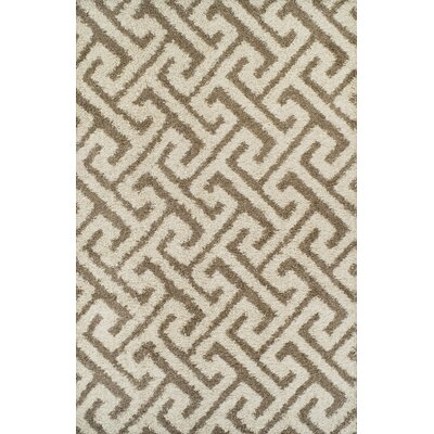 Akil Beige Area Rug Rug Size: 711 x 910