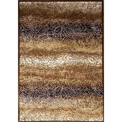 Ravensdale Brown Area Rug Rug Size: Runner 27 x 910