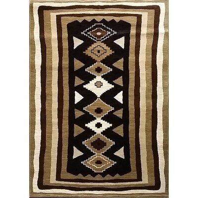 Shuntae Black Area Rug Rug Size: 711 x 910