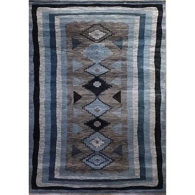 Shuntae Gray Area Rug Rug Size: 7'11