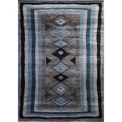 Shuntae Gray Area Rug Rug Size: Runner 27 x 91