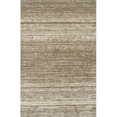 Keera Brown Area Rug Rug Size: 53 x 72