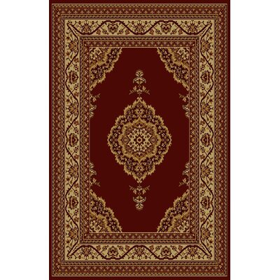 Cadbury Brown Area Rug Rug Size: 53 x 72
