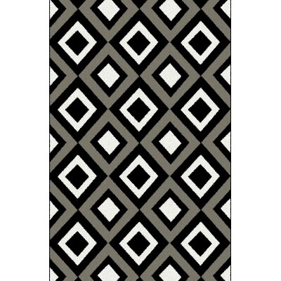 Dramieco Gray Area Rug Rug Size: 711 x 910