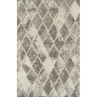 Milagro Ivory Area Rug Rug Size: 53 x 72