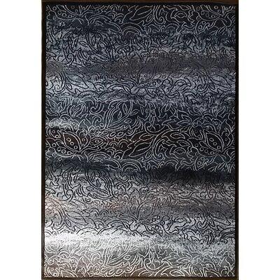 Ravensdale Black Area Rug Rug Size: 10 x 13