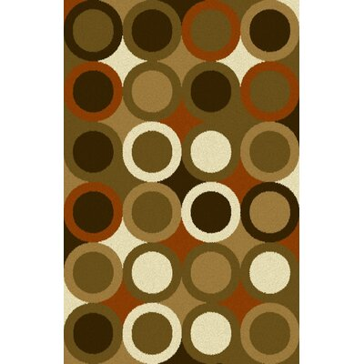 Youssouf Green Area Rug Rug Size: 711 x 910
