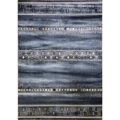 Keunta Black Area Rug Rug Size: Runner 27 x 910