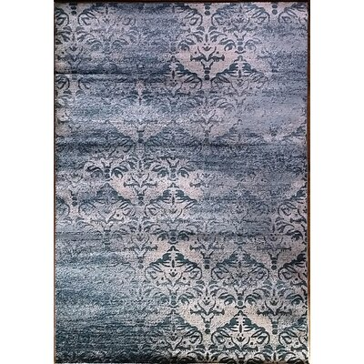 Abrahamsville Light Blue Area Rug Rug Size: Runner 2'7