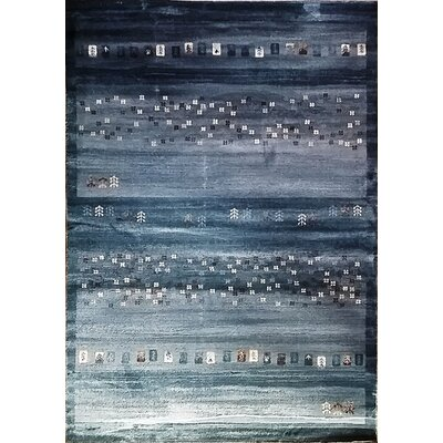 Latisha Dark Blue Area Rug Rug Size: 711 x 910