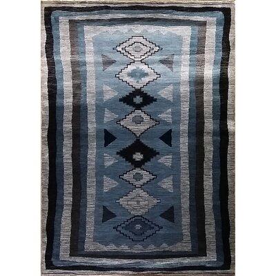 Shuntae Dark Blue Area Rug Rug Size: 711 x 910