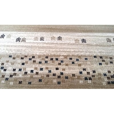 Latisha Brown Area Rug Rug Size: 711 x 910
