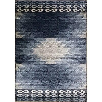 Sargent Black Area Rug Rug Size: 53 x 72