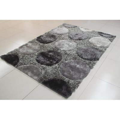 Shawny Gray Area Rug Rug Size: Runner 2 x 72
