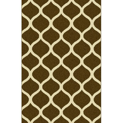 Jaimeela Gray/Brown Area Rug Rug Size: 53 x 72