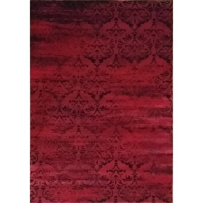 Abrahamsville Red Area Rug Rug Size: 10 x 13