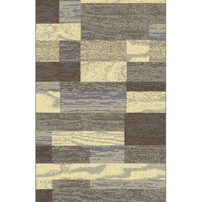 Tatianna Ivory Area Rug Rug Size: 53 x 72