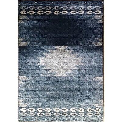 La Junta Blue Area Rug Rug Size: 10 x 13