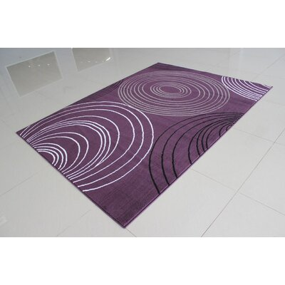 Nogales Purple Area Rug Rug Size: Runner 2 x 72