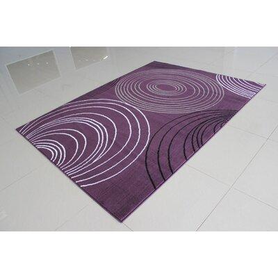 Nogales Purple Area Rug Rug Size: 711 x 910