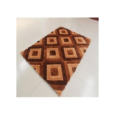 Yakubu Brown Area Rug