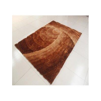 Jebastin Gold Area Rug Rug Size: 53 x 72