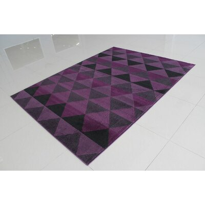 Popovich Lilac Area Rug Rug Size: 711 x 910