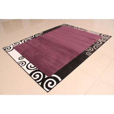 Nikolov Purple Area Rug Rug Size: Runner 2 x 72