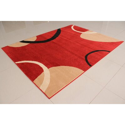 Adilet Rectangle Orange Area Rug Rug Size: Runner 2 x 72