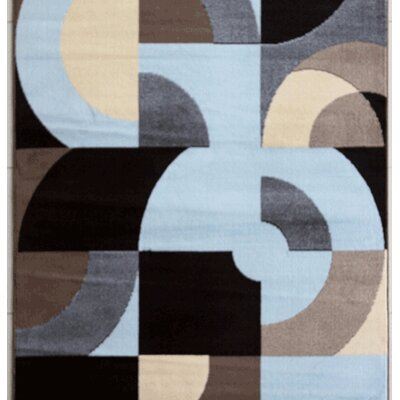 Warden Blue Area Rug Rug Size: Runner 2' x 7'2