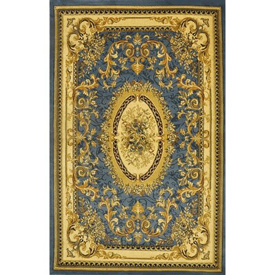 Plymouth Light Blue Area Rug Rug Size: Runner 27 x 910