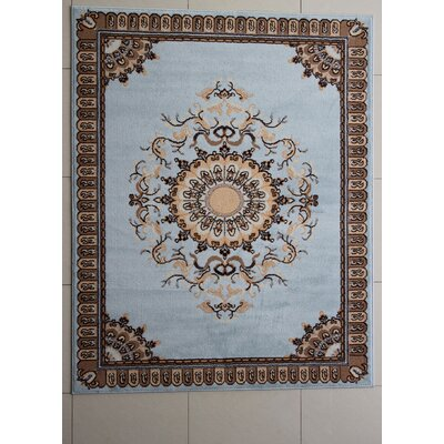 Perivale Blue Area Rug Rug Size: Runner 2 x 72
