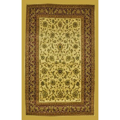 Priestley Ivory Area Rug Rug Size: Rectangle 2' x 3'