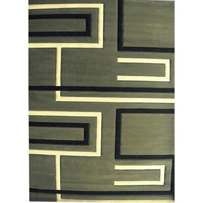Raziya Sage Area Rug Rug Size: 53 x 72
