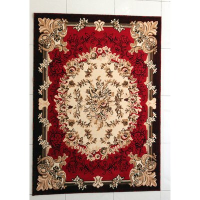 Sudbury Red Area Rug Rug Size: Runner 27 x 91