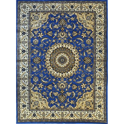 Prewett Light Blue Area Rug Rug Size: Runner 27 x 91